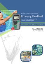 Eutech 5+ & 6+ Series Economy Handheld