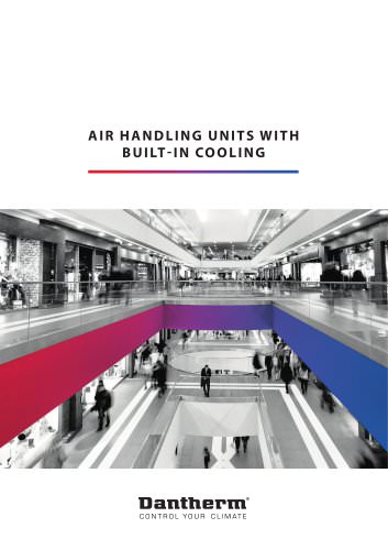Air Handling Units With Built-In Cooling