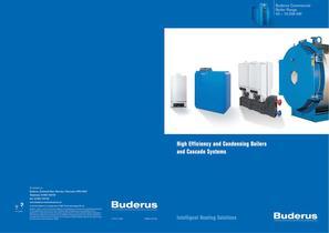 Buderus Boiler range overview