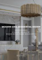 Modern Chic Residential Design   A Luxury Project By Wuhan Baiyue Zhumei Design Office
