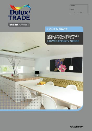 Light & Space Specifier Guide
