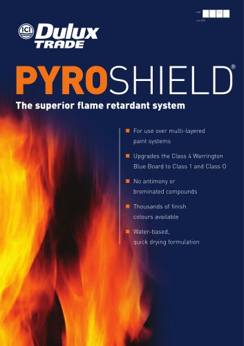Pyroshield Brochure