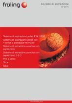 Prospetto Sistemi di estrazione pellet