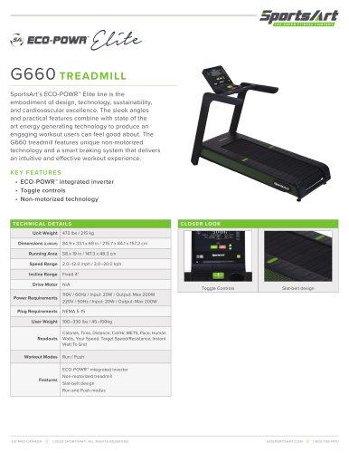 G660 TREADMILL