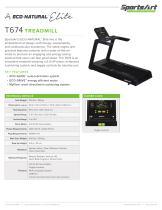 T674 TREADMILL