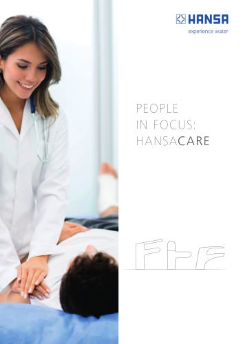 PEOPLE IN FOCUS: HANSACARE