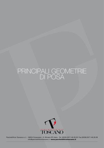 principali geometrie di posa