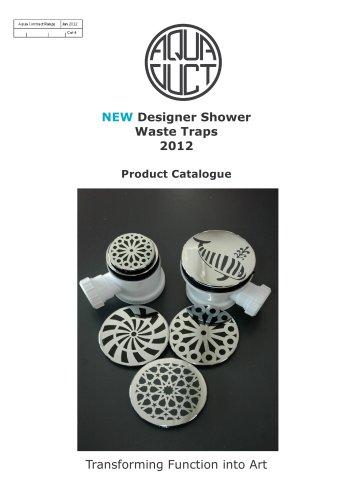 designer shower waste brochure PDF