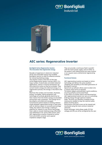 AEC series : Regenerative Inverter