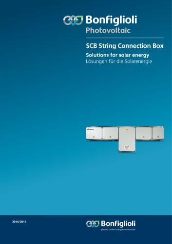 SCB String Connection Box