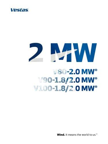 2 MW V80-2.0 MW/ V90-1.8/2.0 MW/ V100-1.8 MW/2.0 MW