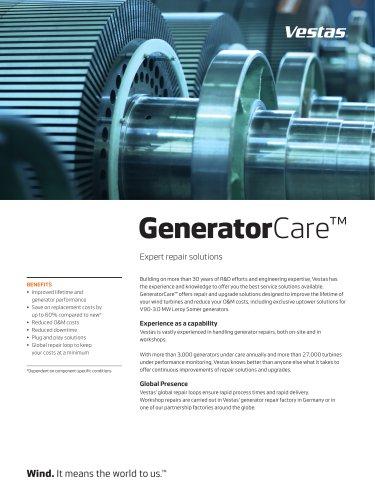 GeneratorCare™