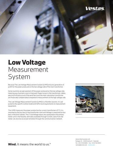 Low Voltage Measurement System