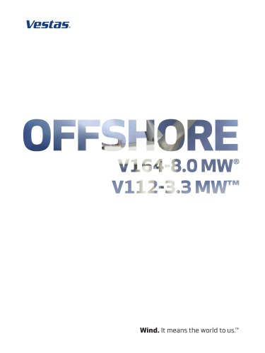 Offshore V164-8.0 MW®/V112-3.3 MW?