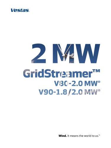 Vestas 2MW Gridstreamer?
