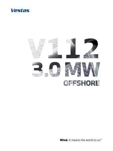 Vestas V112-3.0 MW Offshore