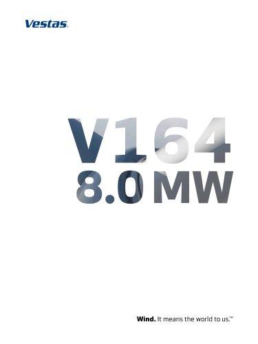 Vestas V164-8.0 MW