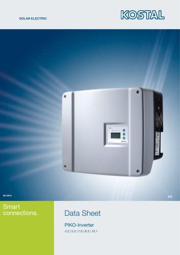 Data Sheet PIKO-Inverter 4.2   5.5   7.0   8.3   10.1