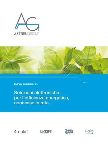 Soluzioni elettroniche per l'efficienza energetica, connesse in rete.