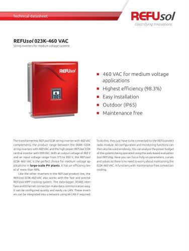 REFUsol_023K-460VAC