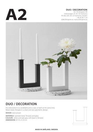 DUO / DECORATION