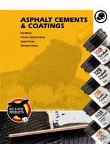 Asphalt Cements & Coatings Brochure