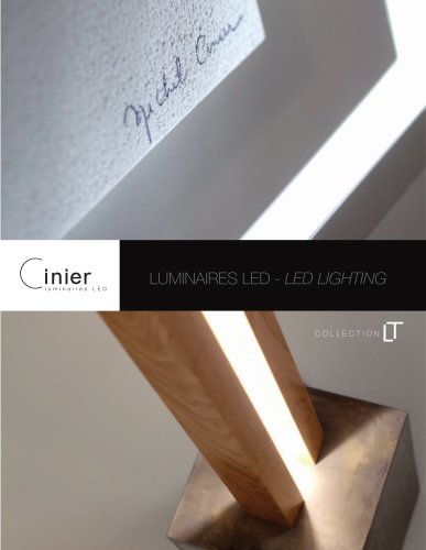 LUMINAIRES LED - LED LIGHTING