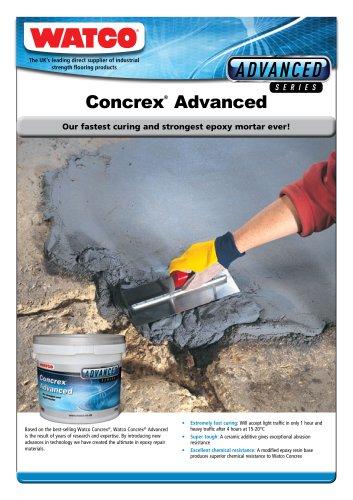 Concrex®  Advanced