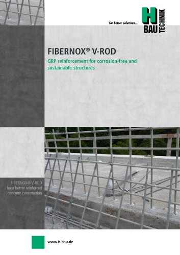 FIBERNOX® V-ROD GRP REINFORCEMENT