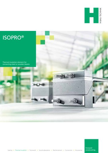 ISOPRO® STEEL AND WOOD CONNECTIONS