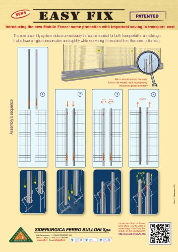 Mobile fences EASY FIX