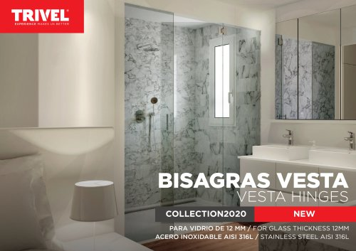 BISAGRAS VESTA VESTA HINGES COLLECTION2020