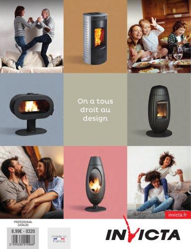 Invicta Catalogue Wood heating