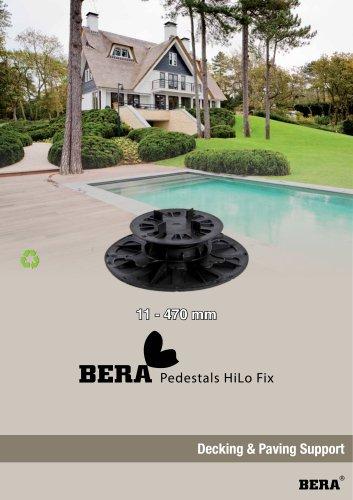 BERA Pedestal HiLo Fix