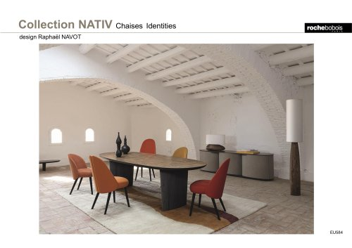 Collection NATIV Chaises Identities
