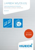 LAMBDA WS/DS 075 PROCESSING CATALOG WINDOWS