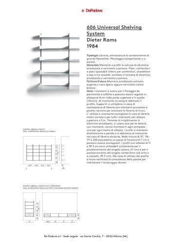 606 Universal Shelving System