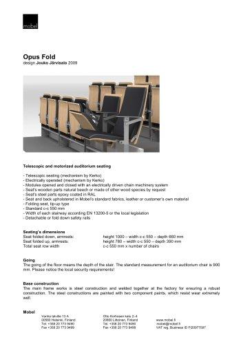 Opus fold