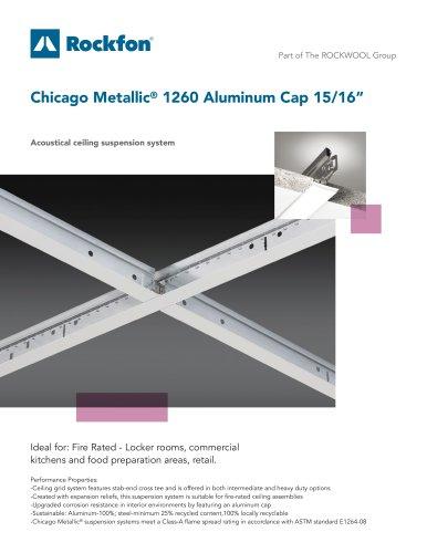 """Chicago Metallic® 1260 Aluminum Cap 15/16"""""""