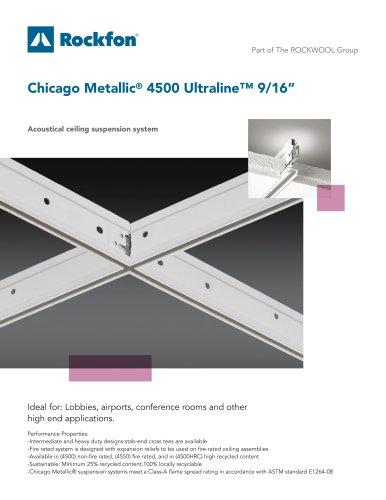 "Chicago Metallic® 4500 Ultraline™ 9/16"""