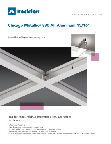 """Chicago Metallic® 830 All Aluminum 15/16"""""""
