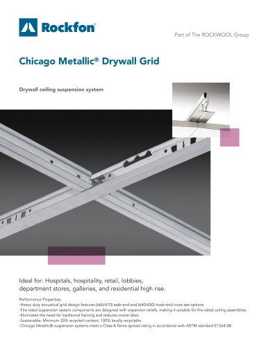 Chicago Metallic® Drywall Grid