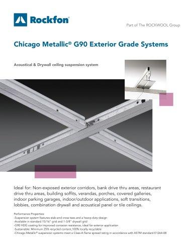 Chicago Metallic® G90 Exterior Grade Systems