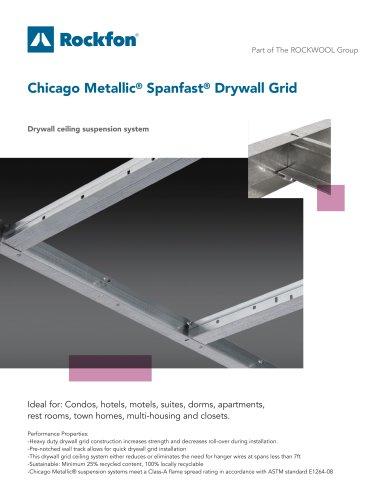 Chicago Metallic® Spanfast® Drywall Grid