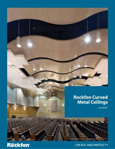 Rockfon Curved Metal Ceilings