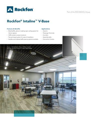 Rockfon® Intaline™ V-Base