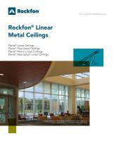 Rockfon® Linear Metal Ceilings