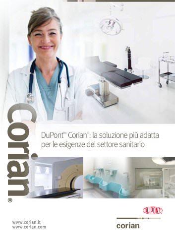 Corian® nel settore sanitario