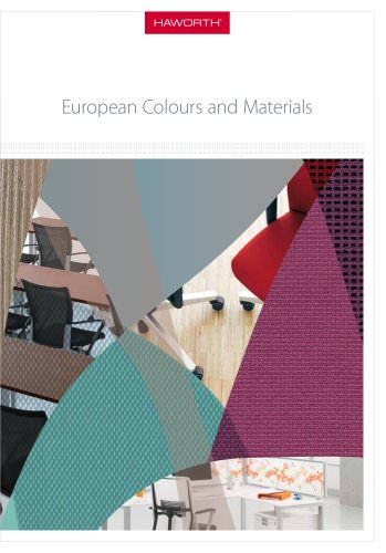 catalogue colours and materials 2012