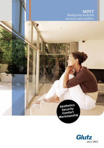 MINT Multipoint locks for security and comfort